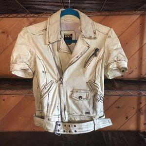 Miss Sixty 100% Genuine Italian Leather Jacket